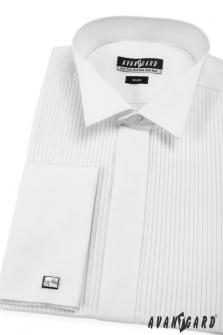 Pánská košile FRAKOVKA SLIM MK - V1-bílá 3f698f9f2b